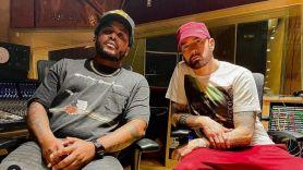 GRIP I Died for This stream album new music video Eminem label debut GRIP and Eminem, photo via Instagram/@grip