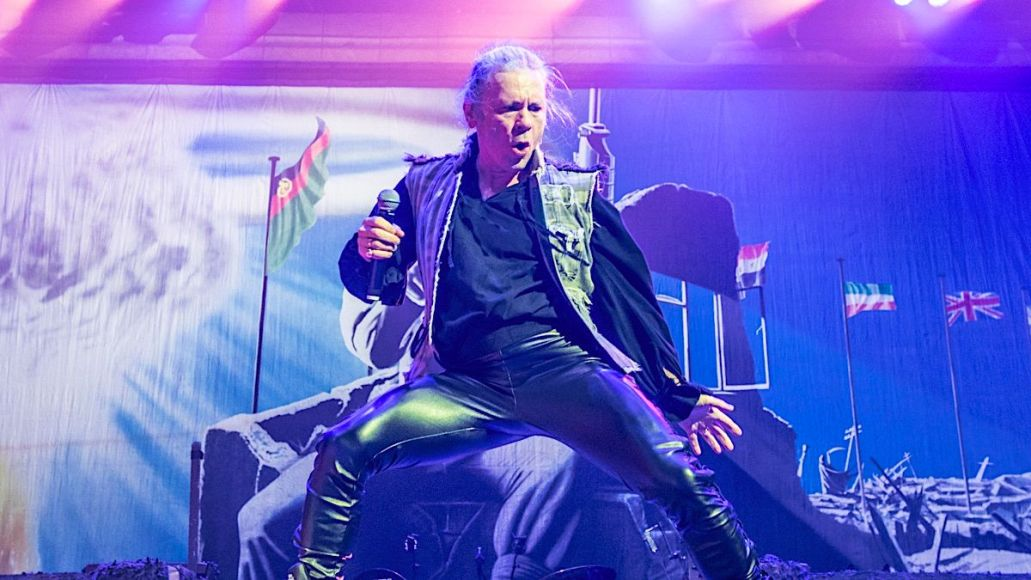 Iron Maiden Bruce Dickinson COVID