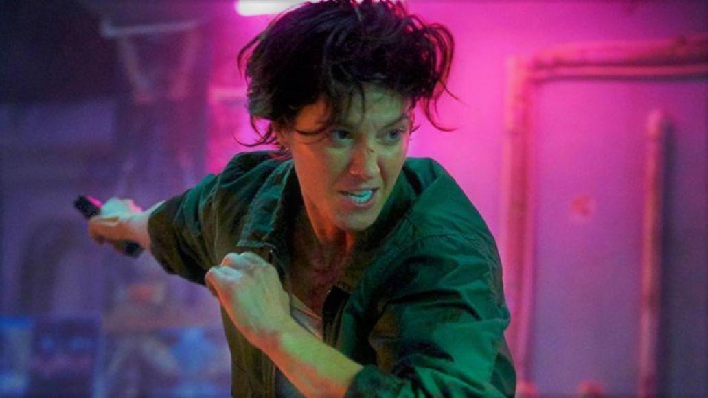 Kate trailer Netflix film Mary Elizabeth Winstead movie stream video Woody Harrelson watch, photo courtesy of Netflix