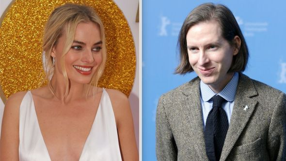 Wes Anderson Margot Robbie movie new film cast members actors title name Margot Robbie (photo by Eva Rinaldi) and Wes Anderson (photo by John Rasimus)