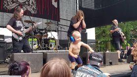 Metal Toddler at Extreme Metal Fest