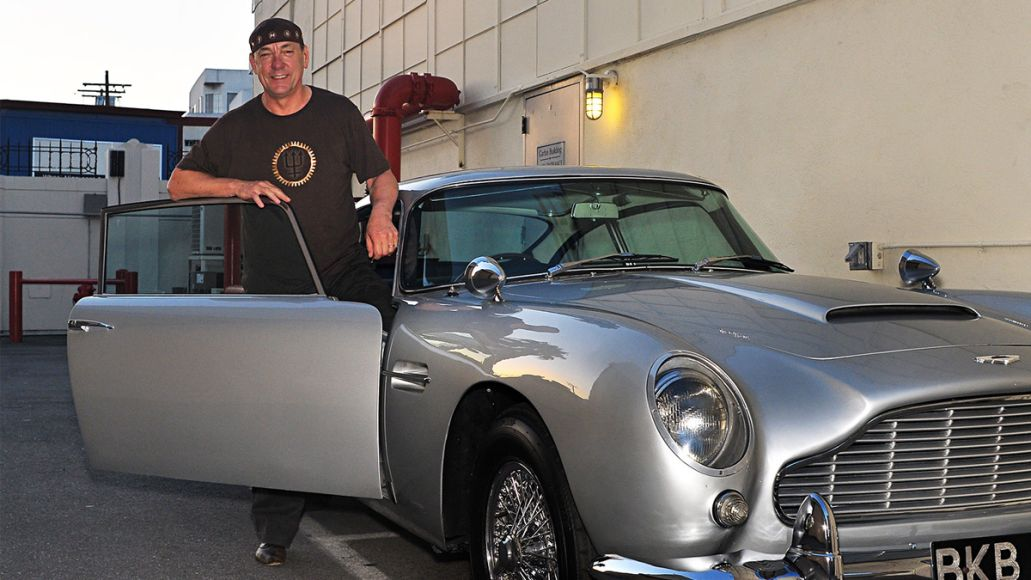 rush neil peart sports car collection auction