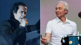 nick cave recalls meeting charlie watts in a tracksuit