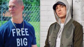 White Boy Rick Eminem actor cast BMF show TV series 50 Cent quote stream Starz watch Richard Wershe Jr. (photo via Instagram/@rickwershe_jr) and Eminem