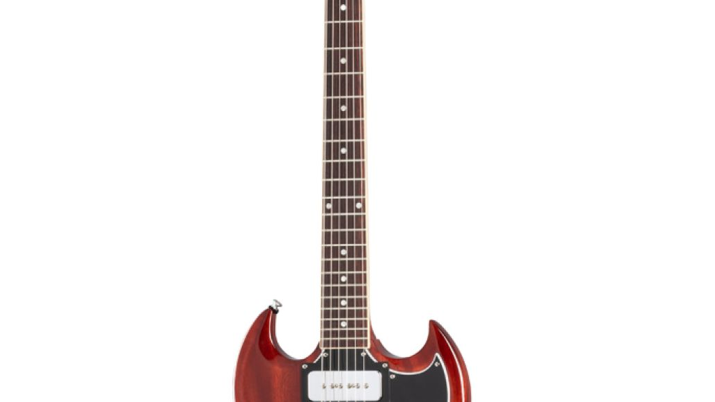SGT121VECH1 front3 copy Black Sabbaths Tony Iommi and Gibson Launch Signature SG Special Electric Guitar