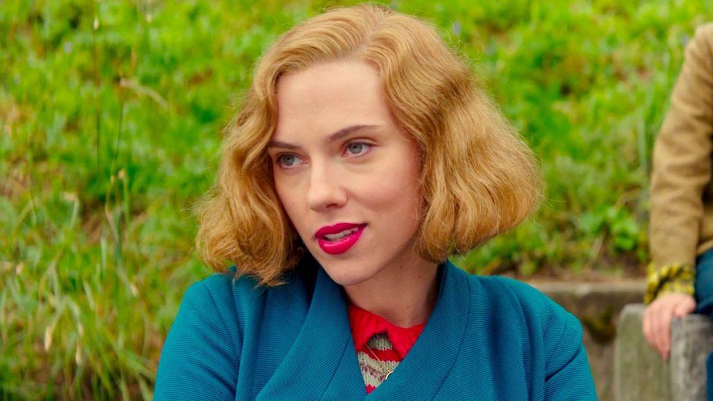 Scarlett Johansson Wes Anderson new movie cast title name 2022 feature film actors Scarlet Johannson, photo via Fox Searchlight Pictures