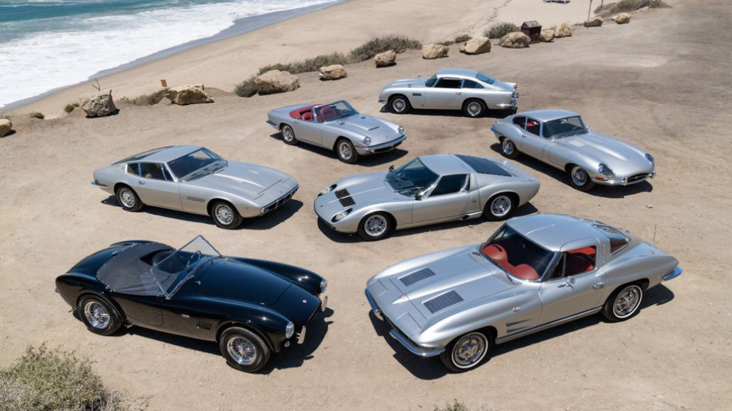 Silver Surfers Group 1 JPEG Press WEBSITE Late Rush Drummer Neil Pearts Sports Car Collection Fetches $3.9 Million at Auction