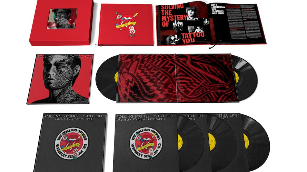 The Rolling Stones Tattoo You 40th Anniversary Deluxe Reissue Artwork vinyl box set art cover