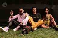 Vic Mensa, Grandson and Jessie Reyez Lollapalooza 2021 portrait shervin lainez