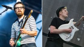 Weezer covers Fall Out Boy's Sugar We're Goin' Down at New York City's Citi Field hella mega tour