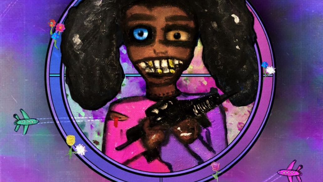 angel haze girl with the gun ep artwork