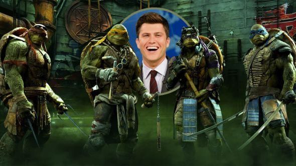 colin jost teenage mutant ninja turtles live action cgi movie