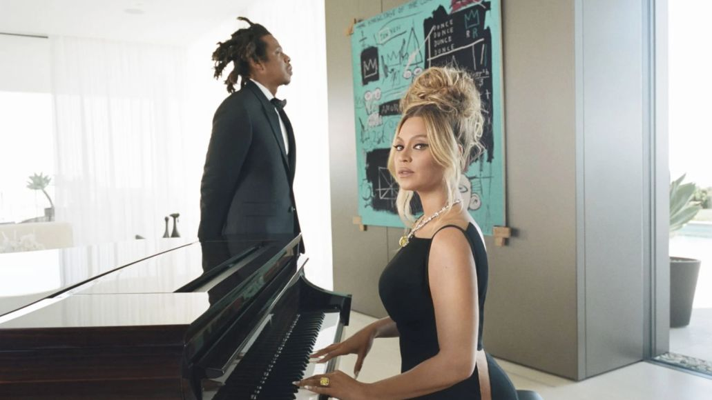 jay-z beyonce tiffany Jean-Michel Basquiat moon river ad campaign