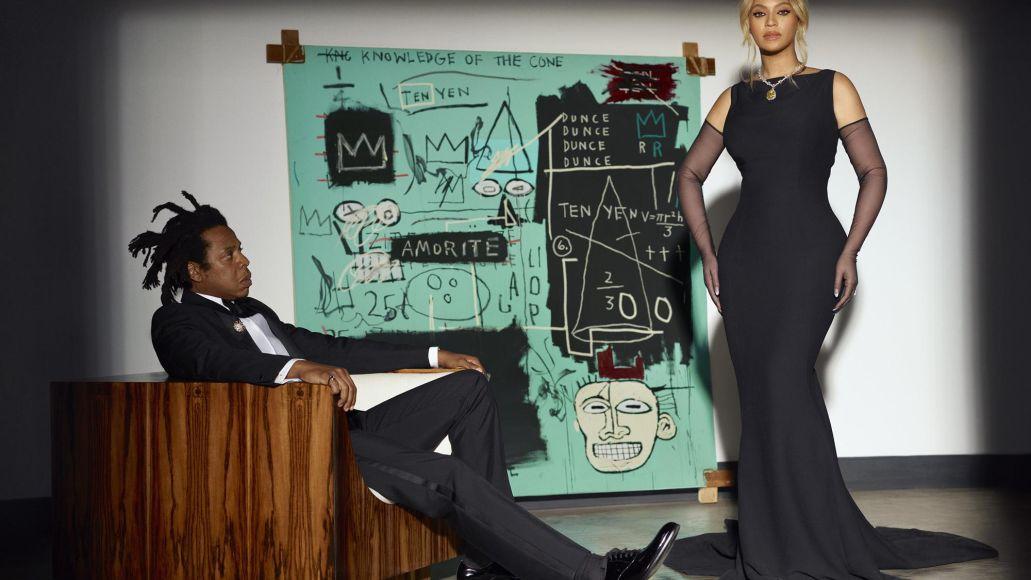 jay-z beyonce tiffany Jean-Michel Basquiat moon river