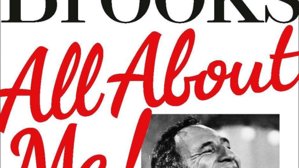 All About Me memoir by Mel Brooks cover art book artwork