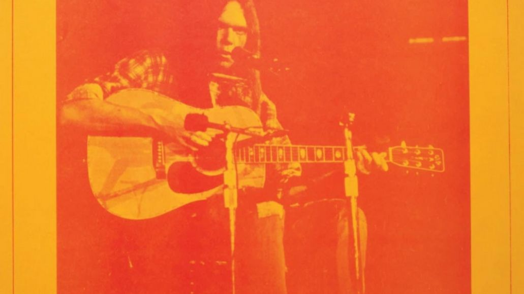 neil young the official bootleg series carnegie hall 1970 cover art