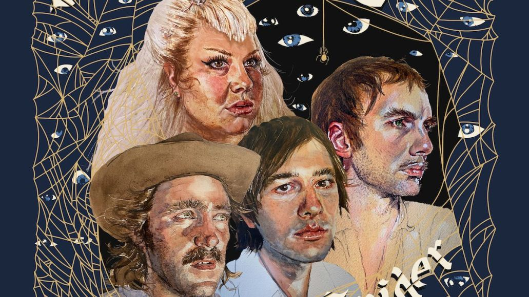 shannon and the clams year of the spider track by track album cover artwork