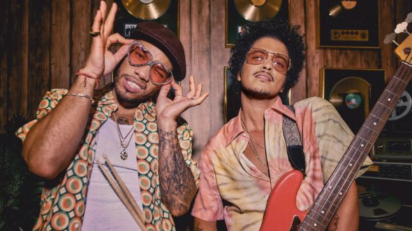 silk sonic bruno mars anderson paak debut album 2022 an evening with silk sonic