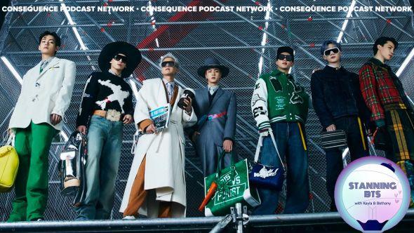 stanning bts louis vuitton fashion show bbc radio 1