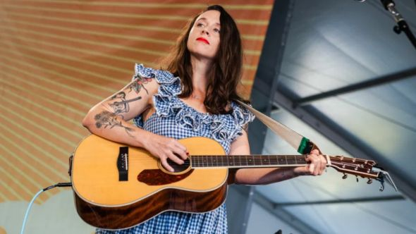 waxahatchee woody guthrie cover talkin' dust bowl blues stream lyric video