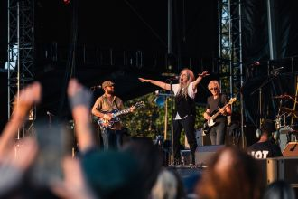 Patti Smith and Her Band at Riot Fest Chicago 2021