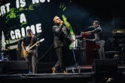 Morrissey at Riot Fest day 1 photos Chicago 2021