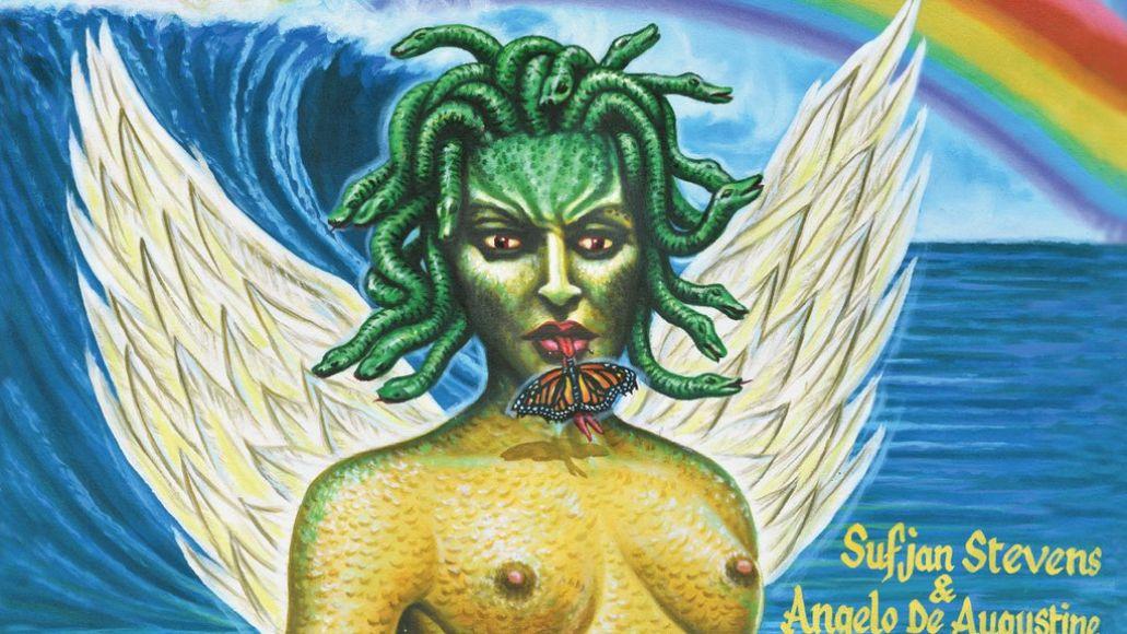 A Beginner's Mind by Sufjan Stevens and Angelo De Augustine album artwork cover art LP record music stream new