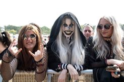 Festival goers seen at Inkcarceration