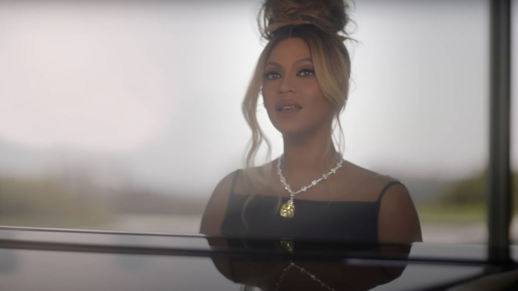 beyonce covers moon river from breakfast at tiffanys for tiffany and co ad campaign