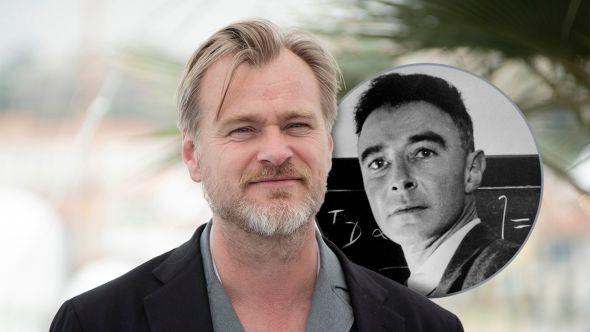 Christopher nolan new movie directing j robert oppenheimer atomic nuclear bomb