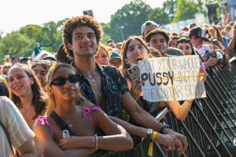 The crowd at Governors Ball 2021 Day 2