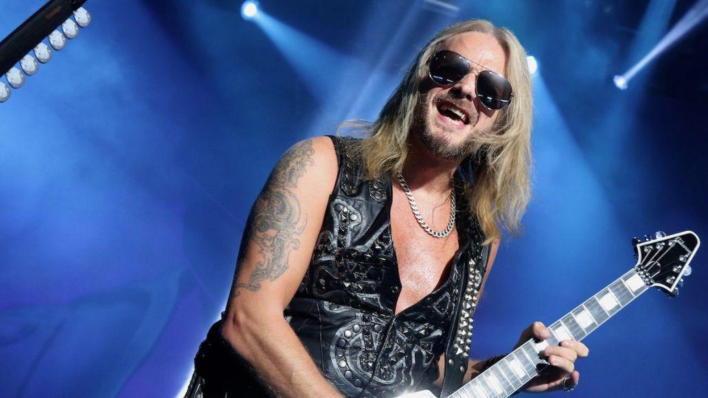 Judas Priest Richie Faulkner heart condition