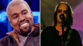 Todd Rundgren Kanye West Donda sample music part clip song dilettante collaboration Kanye West (photo via Netflix) and Todd Rundgren (photo by Eva Rinaldi)
