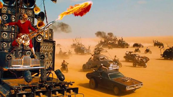 Mad Max Fury Road cars auction buy bid auctioned off online livestream vehicles truck Furiosa Mad Max: Fury Road, photo courtesy of Warner Bros. Pictures