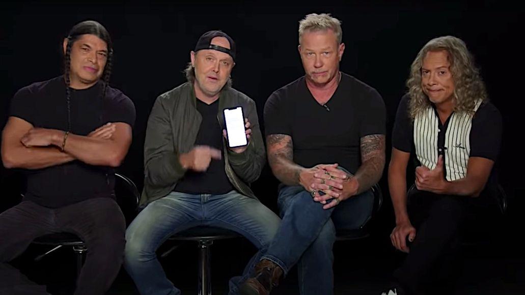 Metallica on Jimmy Kimmel Live