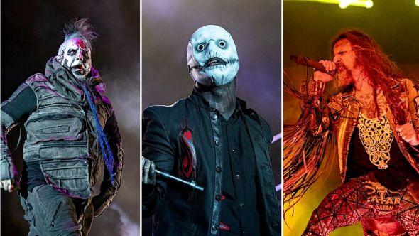 Mudvayne Slipknot Rob Zombie