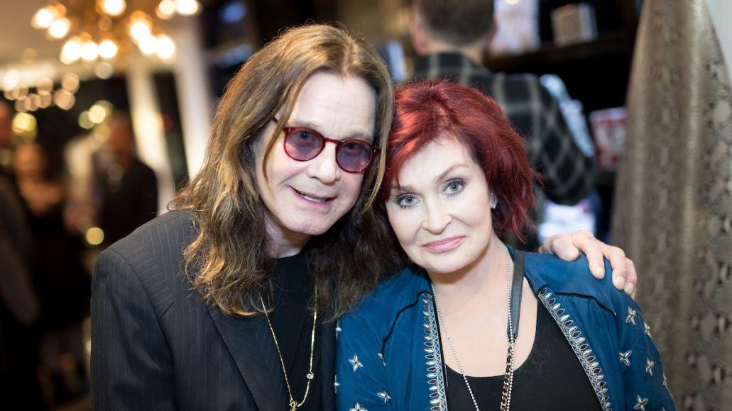 Ozzy and Sharon Osbourne death threats