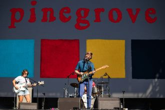 day 2 photos Pinegrove at Riot Fest Chicago 2021