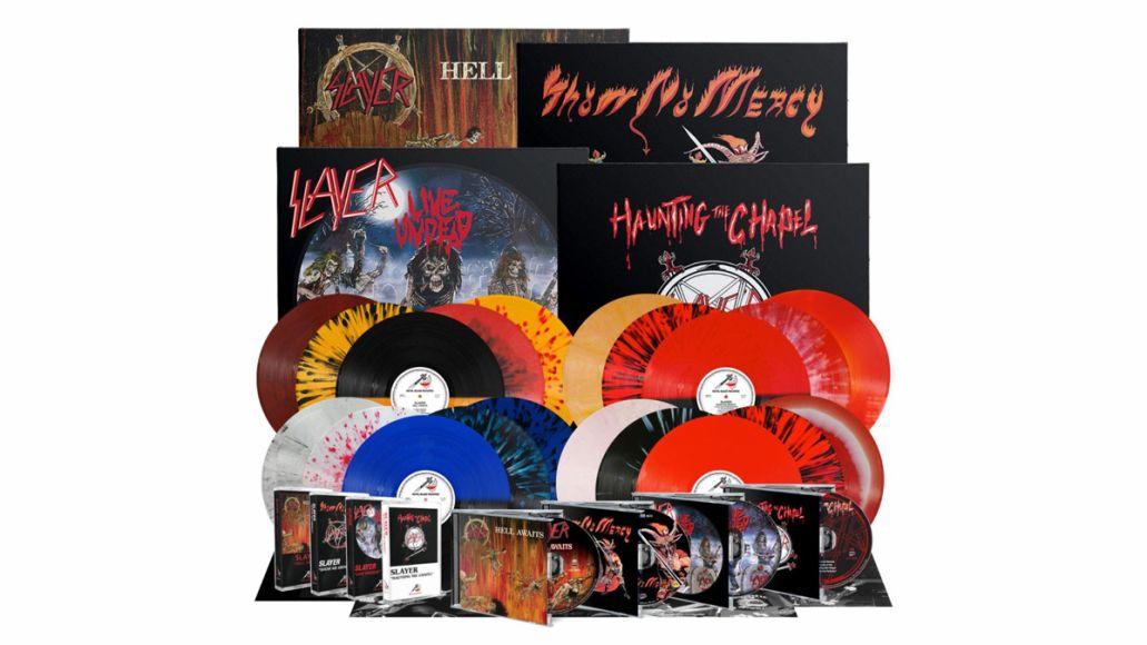 slayer metal blade reissues vinyl