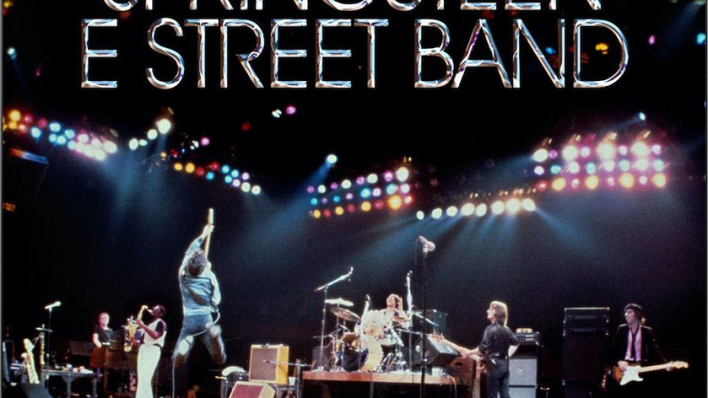 The Legendary 1979 No Nukes Concerts Artwork Bruce Springsteen and the E Street Band