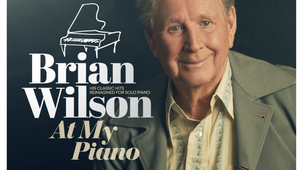brian wilson at my piano new album beach boys classics artwork