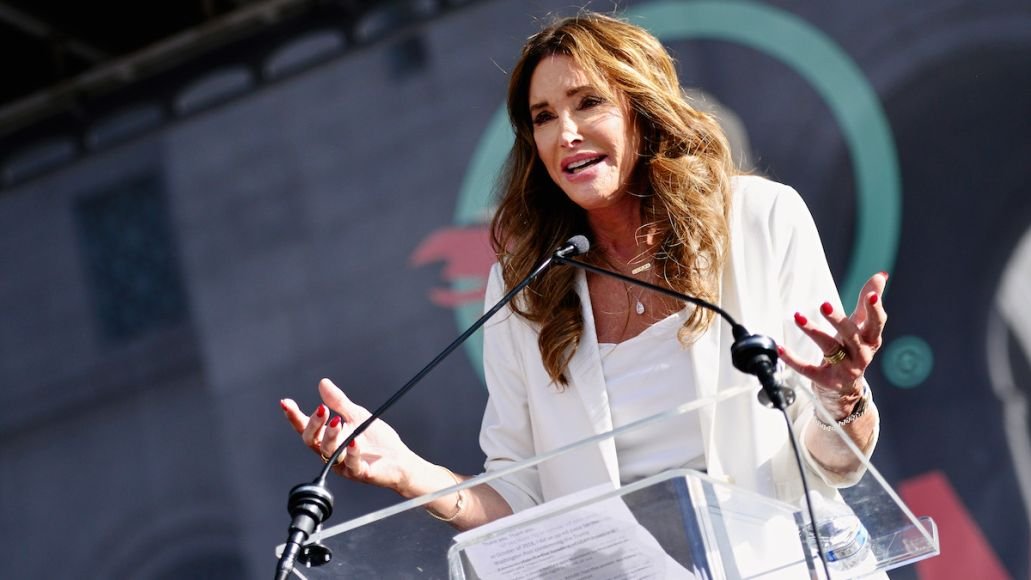 caitlyn jenner governor california polling 1% one percent