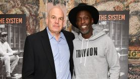 Michael K Williams David Simon quote The Wire interview memories tribute David Simon and Michael K. Williams, photo by Dia Dipasupil/Getty Images