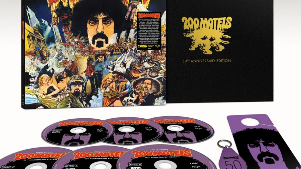 frank zappa 200 motels 50th anniversary super deluxe edition box set packaging