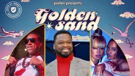 golden sand hip-hop destination festival lineup Riviera Maya mexico 50 cent tlc ludacris