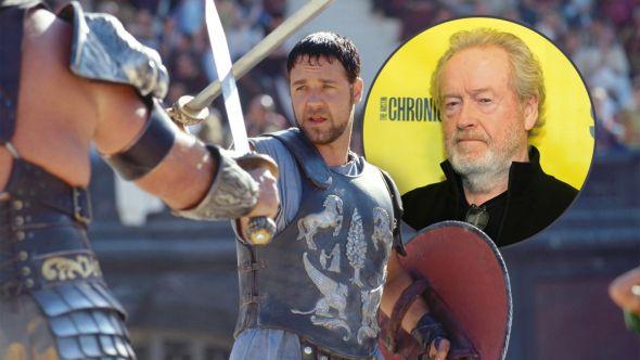 ridley scott gladiator 2 sequel script being written nowv
