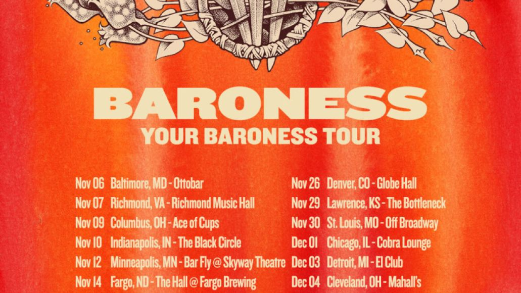 unnamed 37 Baroness Announce Fall 2021 US Tour with Fan Voted Setlists