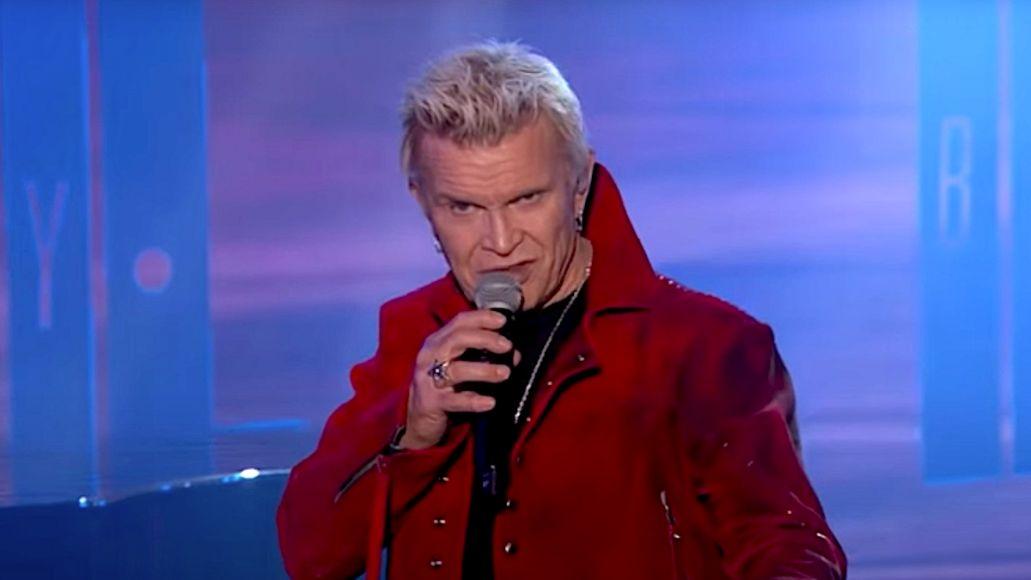 Billy Idol on Jimmy Kimmel Live