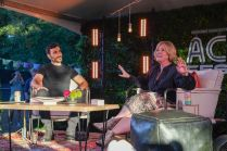 Brene Brown and Brett Goldstein at Austin City Limits 2021 Weekend 2