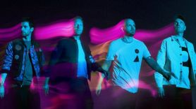 Coldplay Music of the Spheres stream new album apple music video song single spotify Coldplay, photo by Dave Meyers with art direction by Pilar Zeta